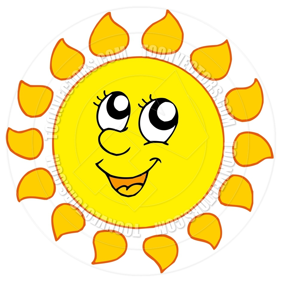 940x940 Sun Cartoon Clipart