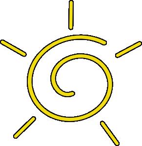 291x299 Sunshine Sun Clip Art