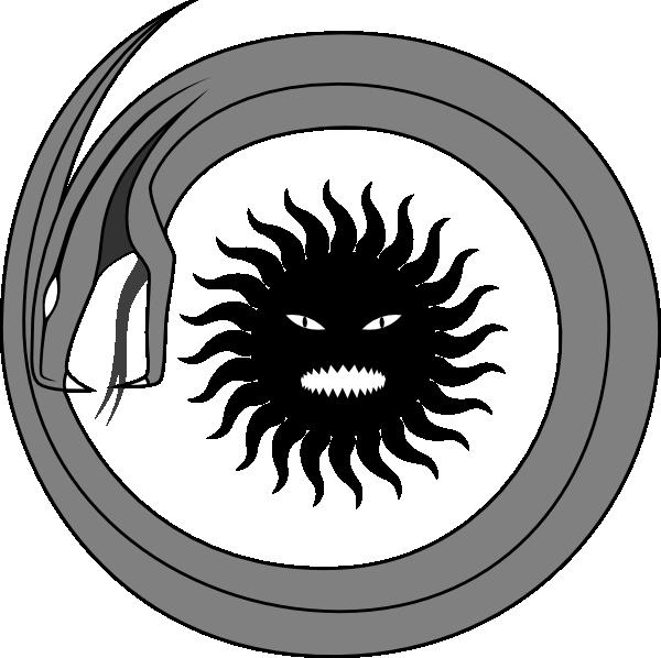600x598 Stranger Viper Sun Clip Art