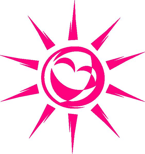 564x596 Smiling Sun Clip Art