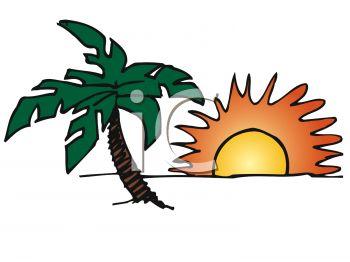 350x262 Tropical Sunshine Clip Art Cliparts