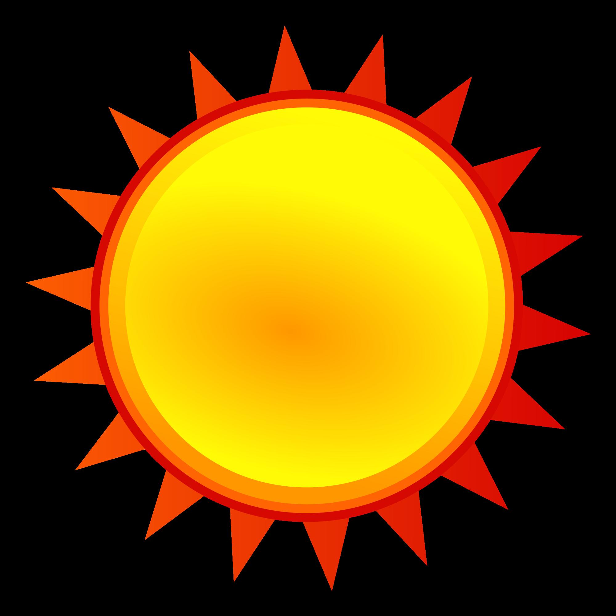 2000x2000 Filenuvola Weather Sunny.svg