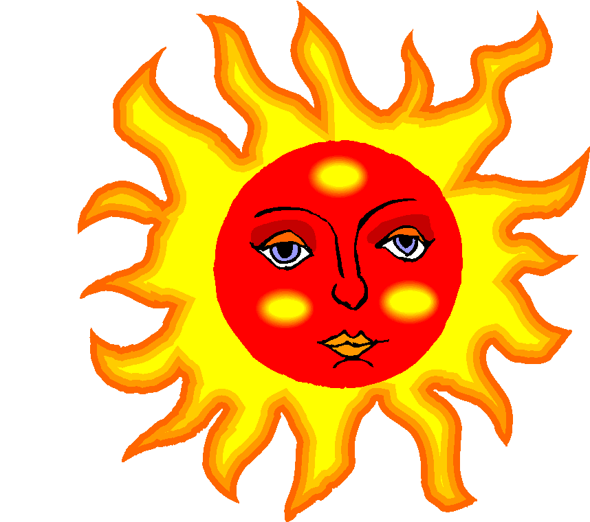 858x760 Red Clipart Sunshine
