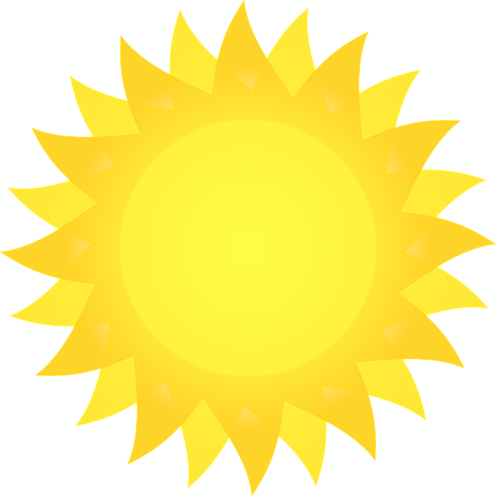 720x720 Best Bright Sun Clipart