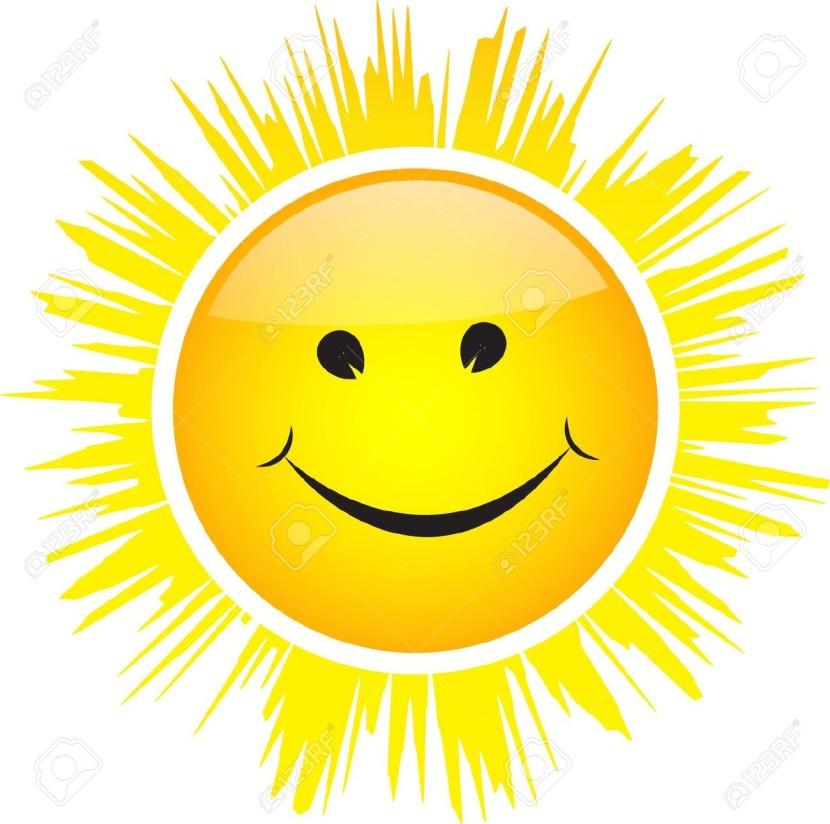 830x824 Best Smiling Sun Images