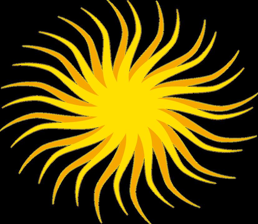 827x720 Bright Clipart Sunshine