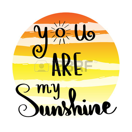 450x450 548 You Are My Sunshine Stock Vector Illustration And Royalty Free