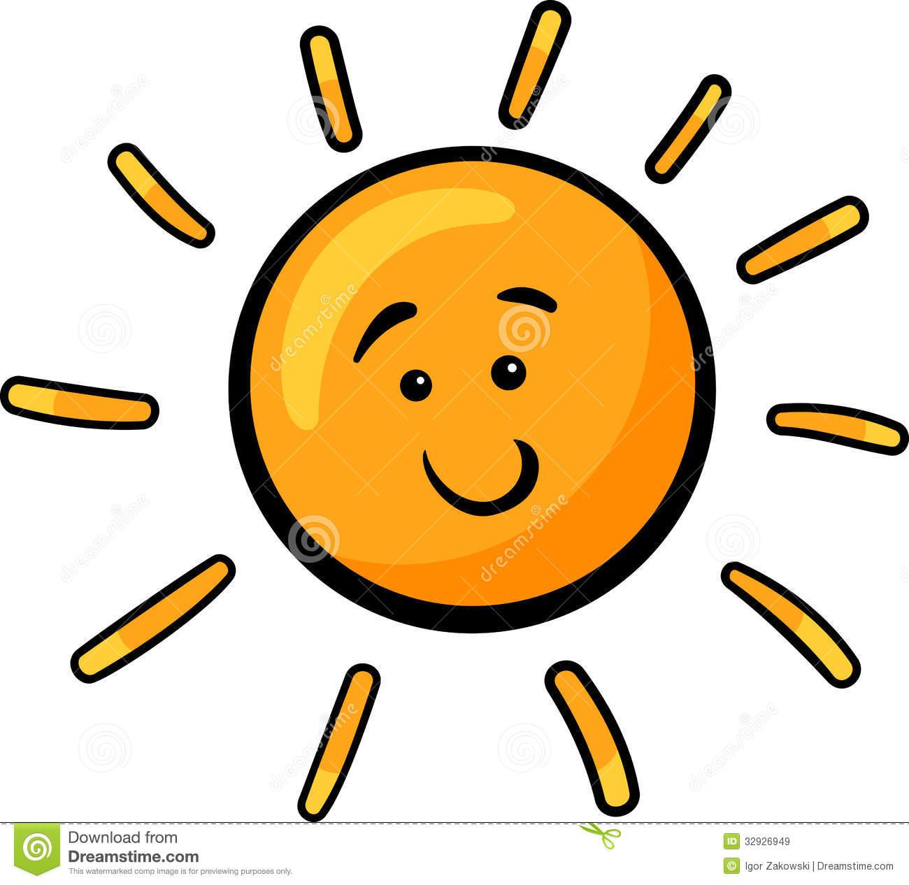 1300x1266 Sunshine Cartoon