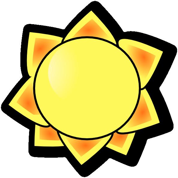 594x596 Sunshine Clip Art