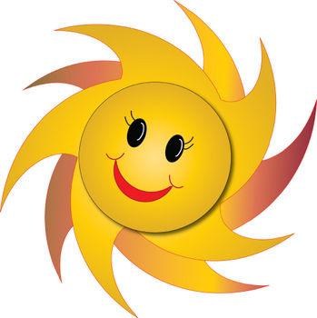 349x350 Sunshine Happy Face Clipart 1972030