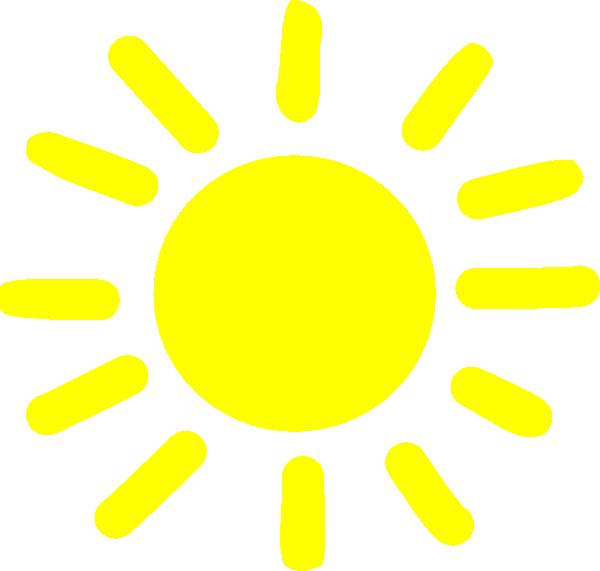 600x571 Yellow Sunshine Clip Art