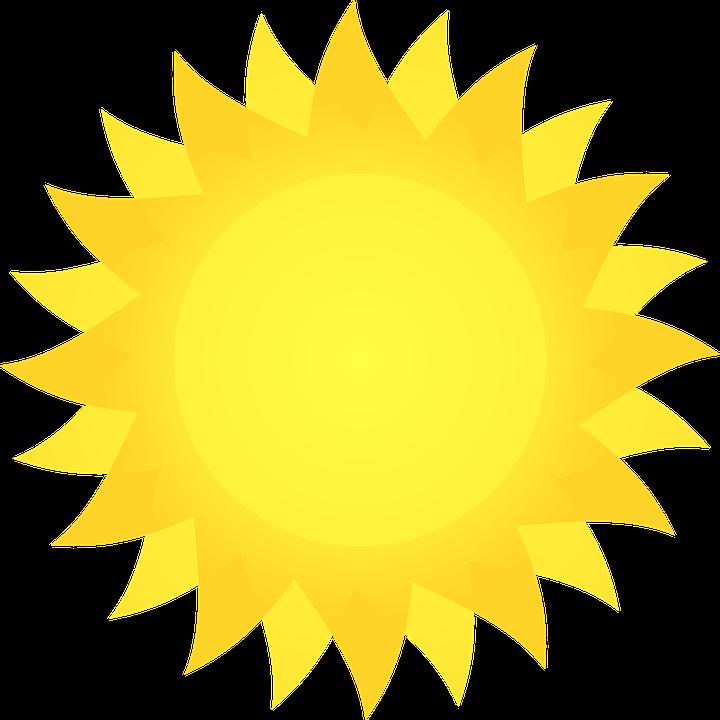 720x720 Bright Clipart Sunshine