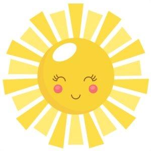 300x300 Cute Sunshine Clipart