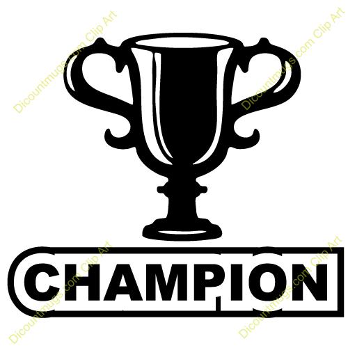 500x500 Trophy Clipart Championship Trophy