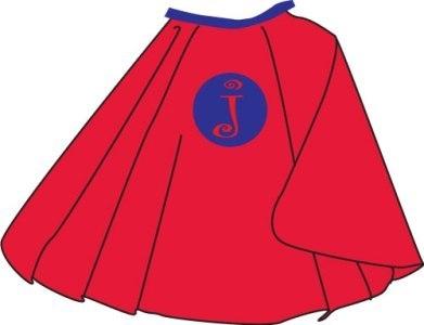 391x300 Free Superhero Cape Clipart