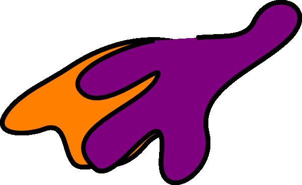 600x369 Superhero Orange Cape Clip Art