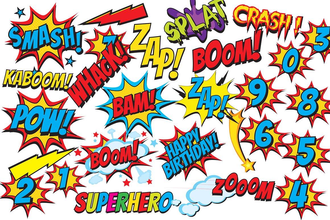 1160x772 Comics Clipart Superhero