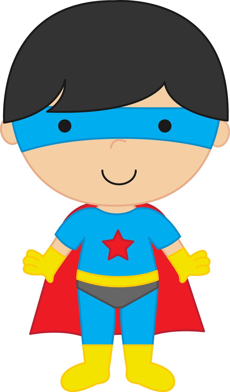 866x1475 Super Hero Clipart