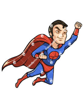 277x357 Superhero Clipart