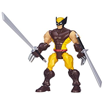 355x355 Marvel Super Hero Mashers Wolverine Figure Toys Amp Games
