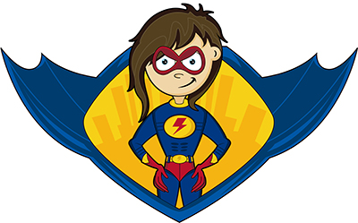 400x249 Lynne Sagen, Super Herolynne Sagen, Super Hero Because Sometimes