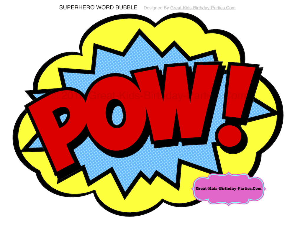 1000x773 Superhero Party Of Superhero Birthday Party Ideas