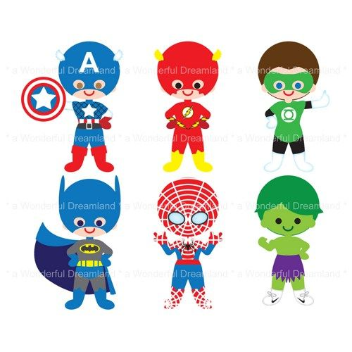 500x500 Super Heroes Clipart, Free Super Heroes Clipart