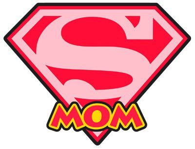 400x306 Super Girl Clipart Super Mom