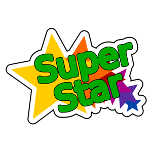 300x300 Super Star Clipart, Cliparts Of Super Star Free Download (Wmf, Eps