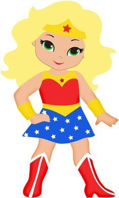 236x394 Mulher Maravilha Cute