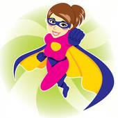 170x170 Superwoman Clip Art