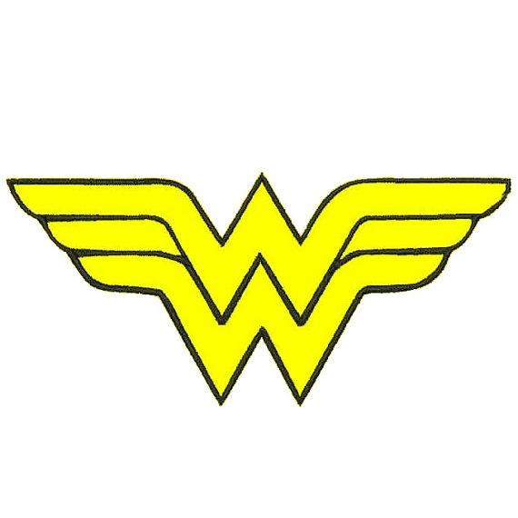 570x570 Wonder Woman Logo Clip Art
