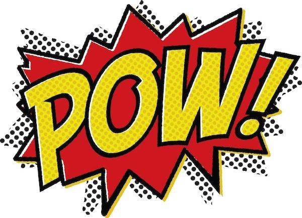600x434 Superhero Words Super Clipart
