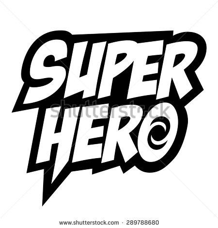 450x470 Hero Word Box Black And White Clipart