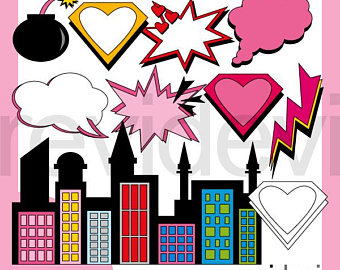 340x270 Supergirl Clipart Etsy
