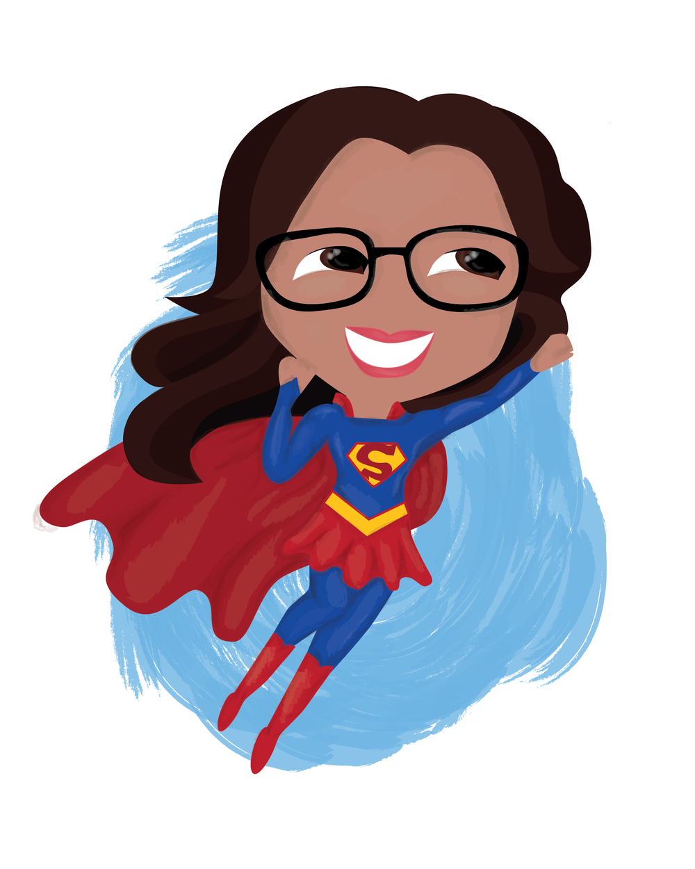 1000x1250 Supergirl Clipart Supe Teacher