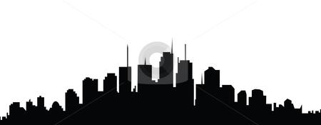 450x175 Free Superhero Background Clipart City Scape