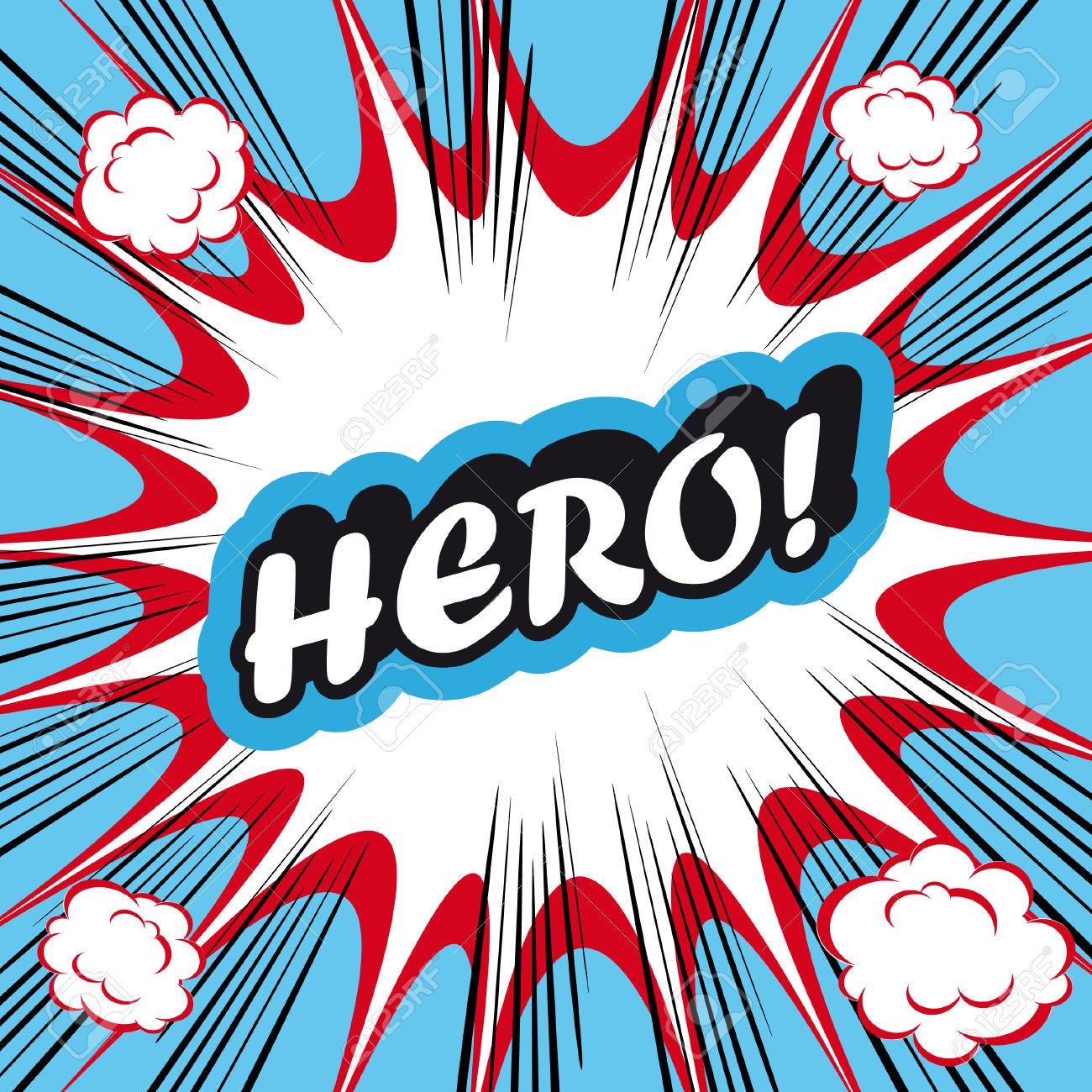 1300x1300 Pop Art Clipart Hero