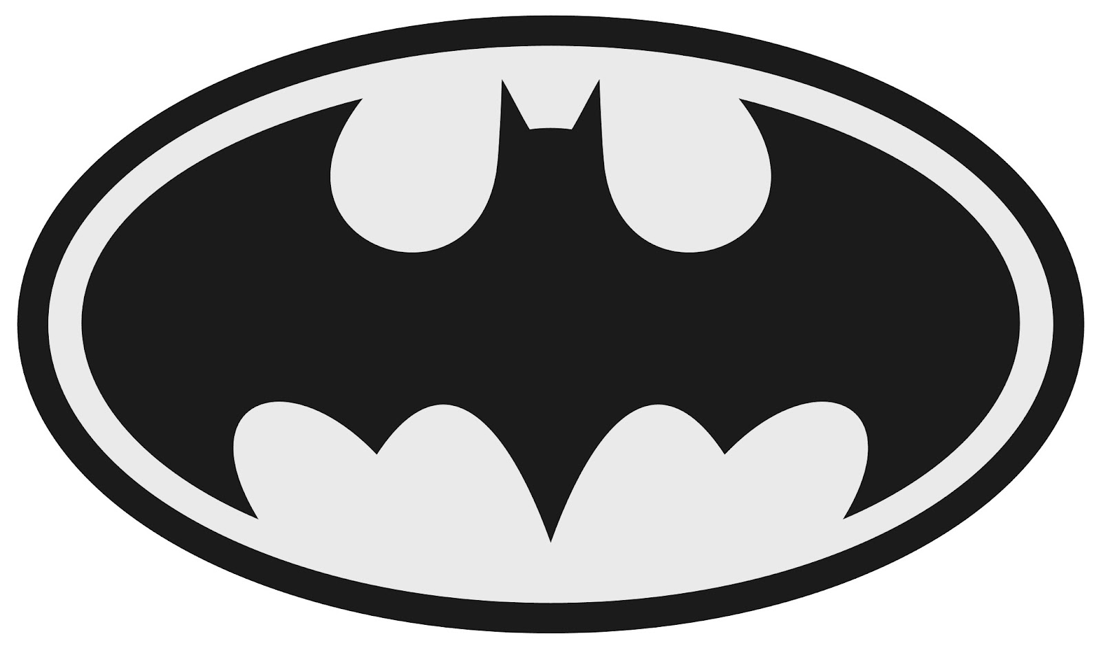 1600x946 Superhero Black And White Superhero Logos Black And White Clipart