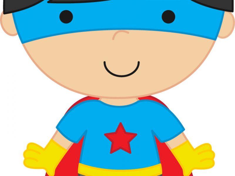 800x600 Superhero Clip Art