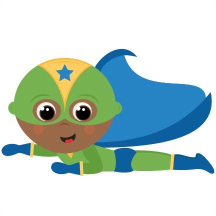 432x432 superhero clip art