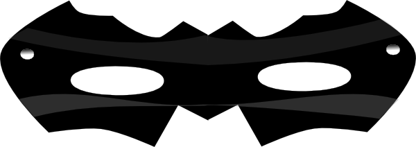 600x212 Super Hero Mask Clip Art Free Clipart Images 2
