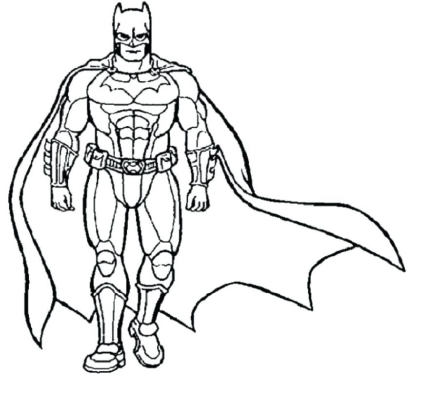 Superhero Coloring Pages | Free download on ClipArtMag
