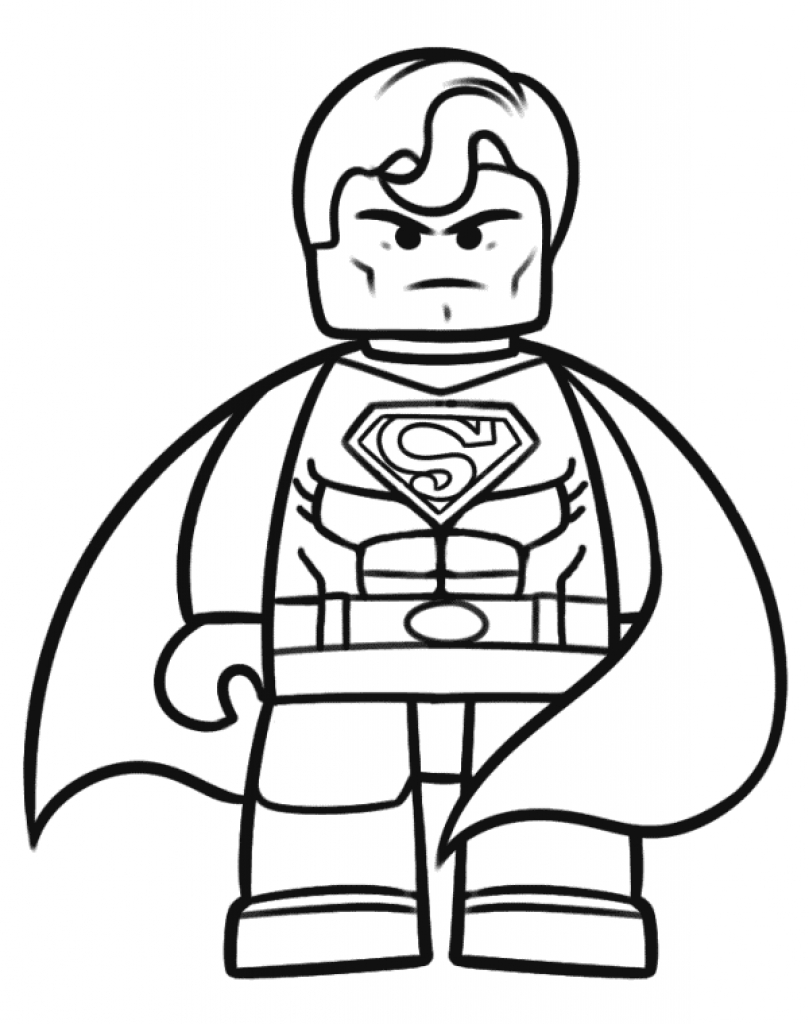 809x1024 Lego Superheroes Coloring Pages 11 Pics Of Superhero Movie