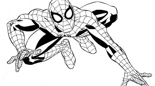 500x280 Superhero Colouring In Sheets Beautiful Superheroes Coloring Pages