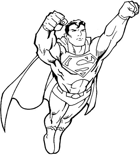 483x537 Captivating Superhero Coloring Pages 24 For Free Coloring Kids