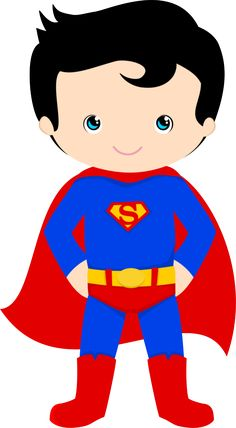 236x428 Super Hero Clip Art