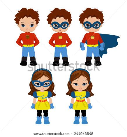 436x470 Cute Supergirl Clipart