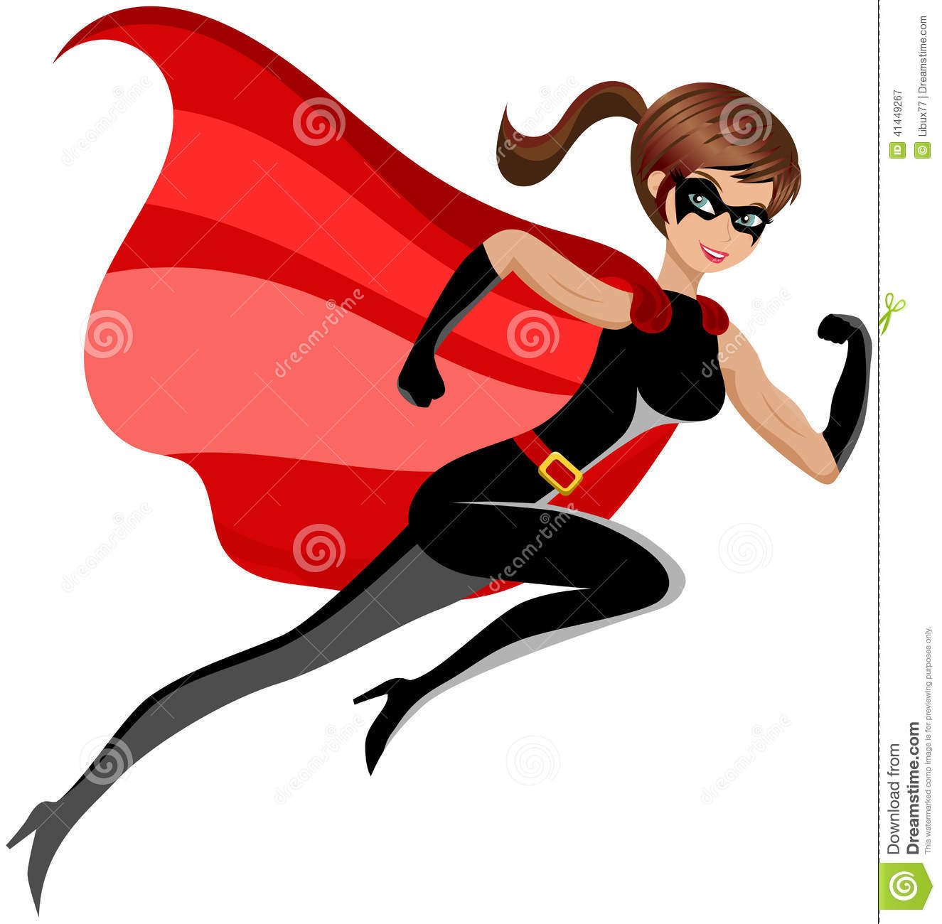 1325x1300 Super Girl clipart muscle woman