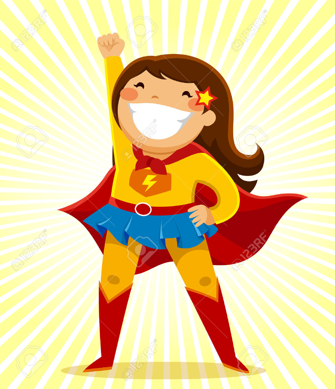1118x1300 Super Girl clipart superhero character
